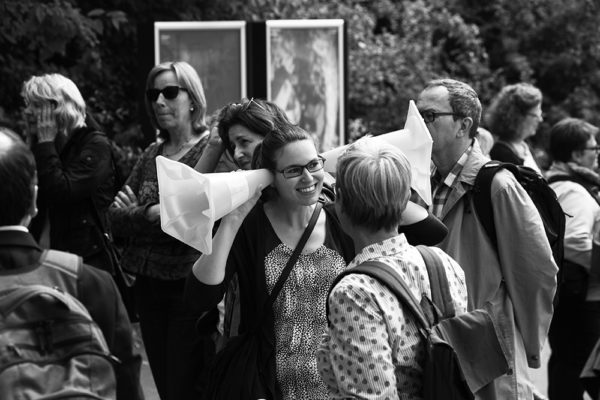"Klangspaziergang im Rahmen der Veranstaltung ""Silence!"""