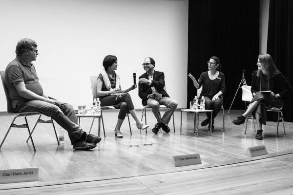 Gespräch mit Gian Reto Janki, Yuka Nakamura und Bruno Brantschen