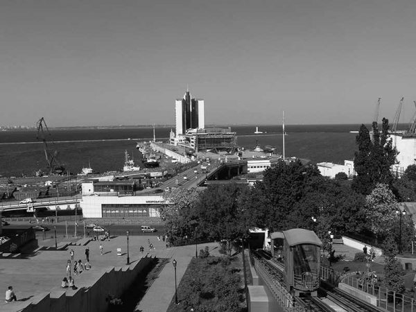 Hafenmole Odessa