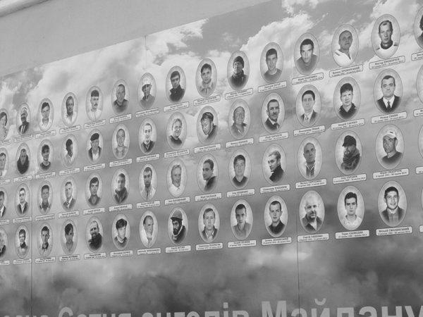 Gedenken an die Opfer des Maidan